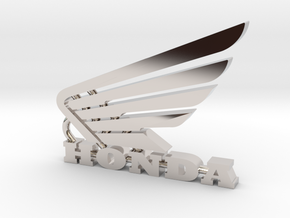 Honda Keychain Pendant  in Platinum