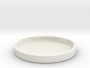 Final Lid in White Natural Versatile Plastic
