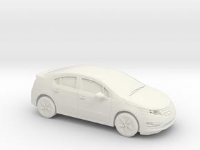 1/87 2013 Chevrolet Volt in White Natural Versatile Plastic