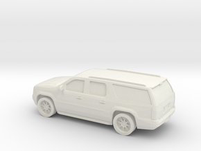 1/87 2012 GMC Yukon in White Natural Versatile Plastic