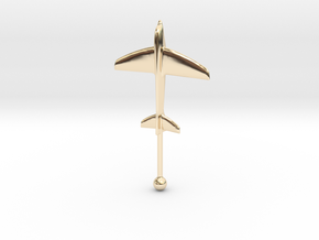 Windthos 60mm in 14k Gold Plated Brass