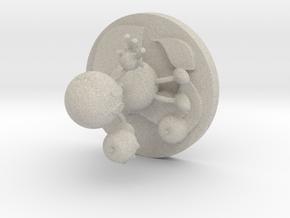 Ethylene in Natural Sandstone