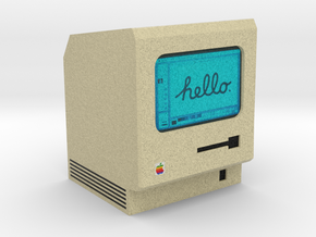 Macintosh Computer Desk Accessory in Full Color Sandstone