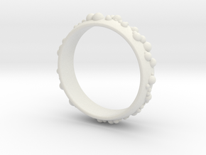 thousand fields Ring in White Natural Versatile Plastic