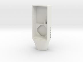 Case Top in White Natural Versatile Plastic
