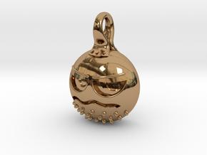 Grumpalump in Polished Brass