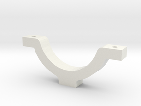 Can Stein Clamp2 in White Natural Versatile Plastic