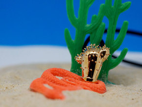 Cactus Pendant | Shut Up Cláudia! in Polished Bronze