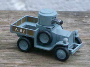 Armoured Car for Car Wars etc. 1/72 scale. in Smooth Fine Detail Plastic