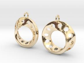 Fantasy-5-EarRings in 14K Yellow Gold