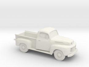 1948-52 Ford F Series Pickup in White Natural Versatile Plastic
