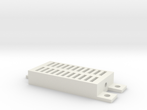 DHT Sensor Cover in White Natural Versatile Plastic