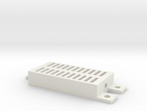 DHT Sensor Cover in White Natural Versatile Plastic