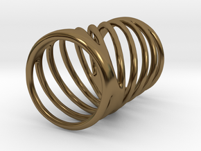 Ring of Rings No.7 in Polished Bronze