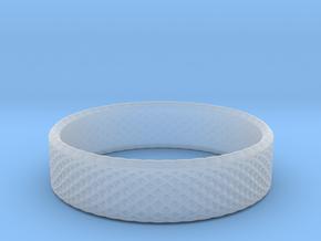 0215 Lissajous Figure Ring (Size7.5, 17.7mm) #020 in Smoothest Fine Detail Plastic