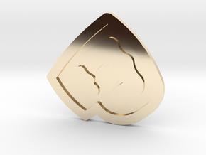 Pewdiepie - Bro Fist in 14K Gold