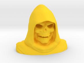 Grim Reaper Bust in Yellow Processed Versatile Plastic