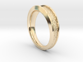 Detailed Ring in 14K Yellow Gold