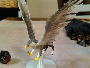 Hippogriff in White Natural Versatile Plastic