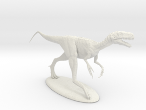 Eotyrannus 1:12 in White Natural Versatile Plastic