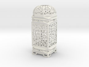 Moroccan Inspired Design 3D  in White Strong & Flexible