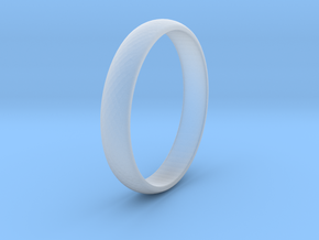 Ring Size 9 1I2 smooth in Smoothest Fine Detail Plastic