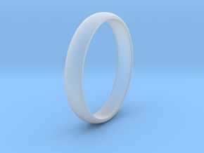 Ring Size 10 1I2 smooth in Smooth Fine Detail Plastic