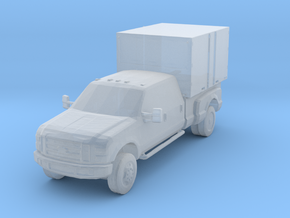 Military Civilian shop vehicle in Smooth Fine Detail Plastic