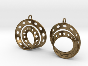 Fantasy-6-EarRings in Natural Bronze