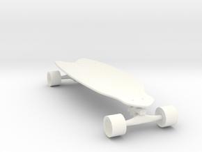 skateboard shooter  in White Processed Versatile Plastic