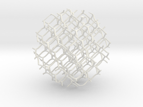 Spheremesh 82cm in White Strong & Flexible