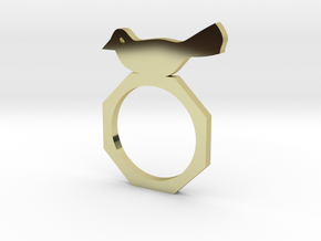 Sweet Bird Ring in 18k Gold
