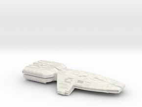 GunStar  in White Natural Versatile Plastic