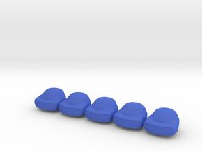 5 x PA Digger Gordon T1 in Blue Processed Versatile Plastic