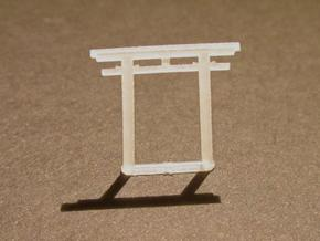Torii, Hachiman small 5x (N-gauge) in Smooth Fine Detail Plastic