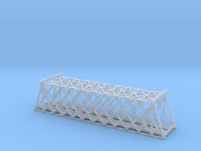T SCALE DOUBLE TRACK TRUSS BRIDGE in Smooth Fine Detail Plastic
