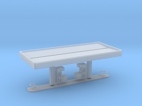 N Scale Gas Station FUD in Smooth Fine Detail Plastic