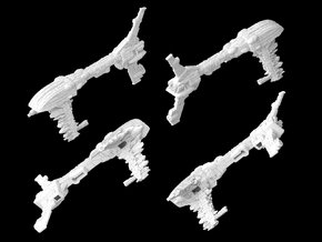 (Armada) Assault Frigate Mk I Type VI in White Natural Versatile Plastic