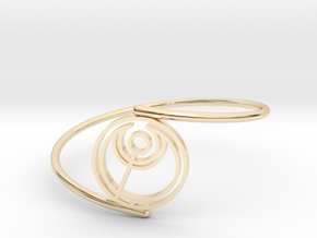 Abbi - Bracelet Thin Spiral in 14k Gold Plated