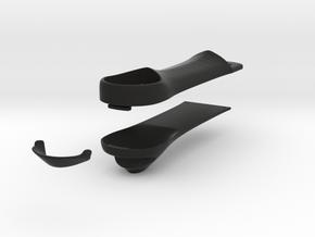 CN101 Quad Arms  in Black Natural Versatile Plastic