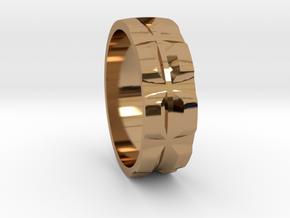 Retu Sz10 in Polished Brass