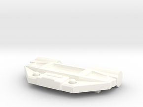 Magnetic Charger Chest Plate in White Processed Versatile Plastic