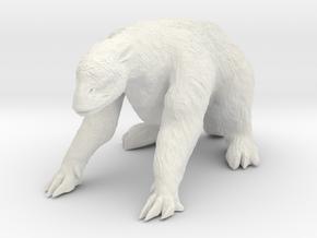 Megatherium 1 100(MEST 2015) in White Natural Versatile Plastic