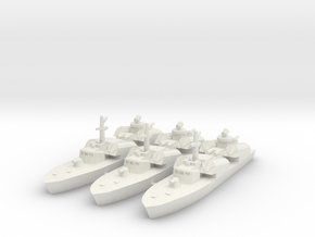 OSA-1 Missile boat 1:700 & 1:350 in White Strong & Flexible: 1:700