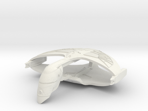 WarBird in White Natural Versatile Plastic