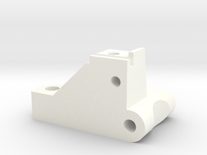 1/5 Scale Front Bulkhead, RH in White Processed Versatile Plastic