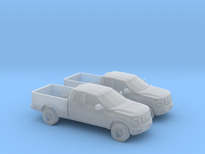 1/160 2X 2010 Ford F-150 in Smooth Fine Detail Plastic