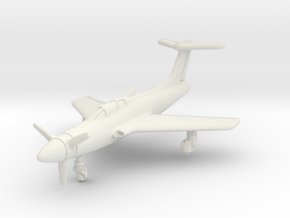 Republic XF-84H Thunderscreech 1/285 6mm in White Natural Versatile Plastic
