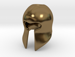 Helm in Polished Bronze
