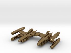 "RetroRocket ""Scorpius"" in Polished Bronze"